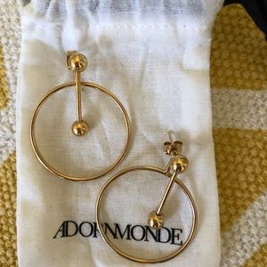 Adornmonde 2 in 1 Earrings